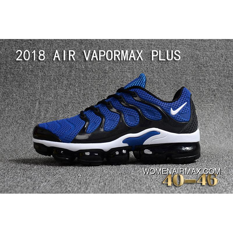 2f19d578a43 USD  87.60  297.85. Nike 2018 PLASTIC AIR VAPORMAX PLUS TN PLASTIC VAPORMAX  PLASTIC Men Shoes Navy Blue ...