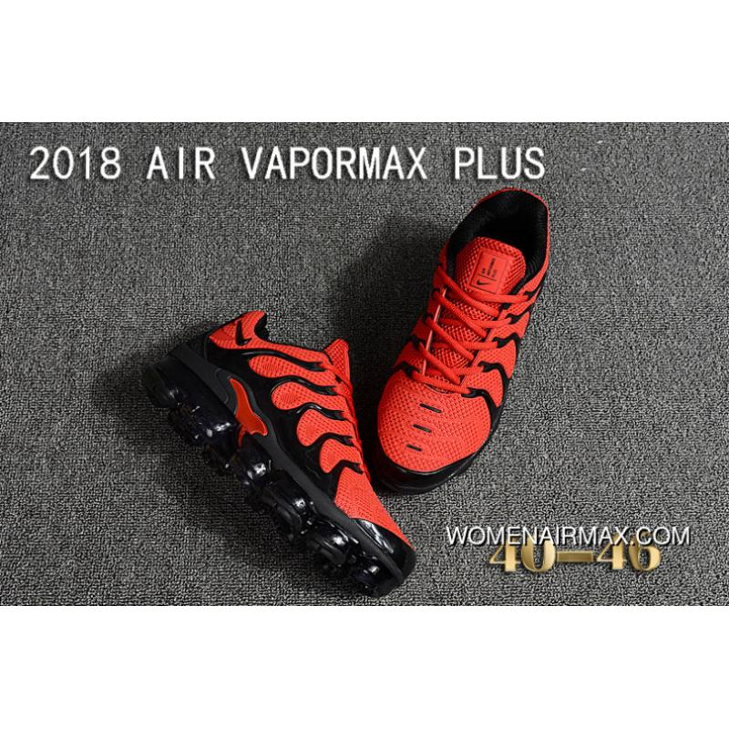 ... Nike 2018 PLASTIC AIR VAPORMAX PLUS TN PLASTIC VAPORMAX PLASTIC Men Shoes  Red Black New Year ... ea039f141