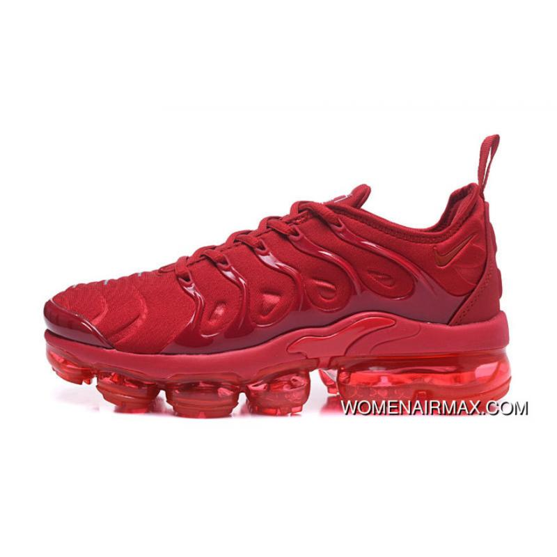 dfd36b130567b ... New Nike Air Vapormax Plus All Red For Sale