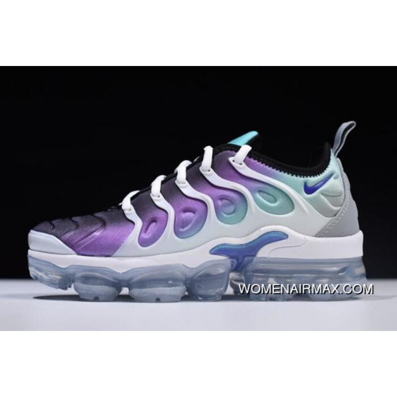cozy fresh 9bf88 e648c Women's Nike Air Vapormax Plus 'Grape' White/Fierce Purple-Aurora  Green-Black 924453-101 Latest