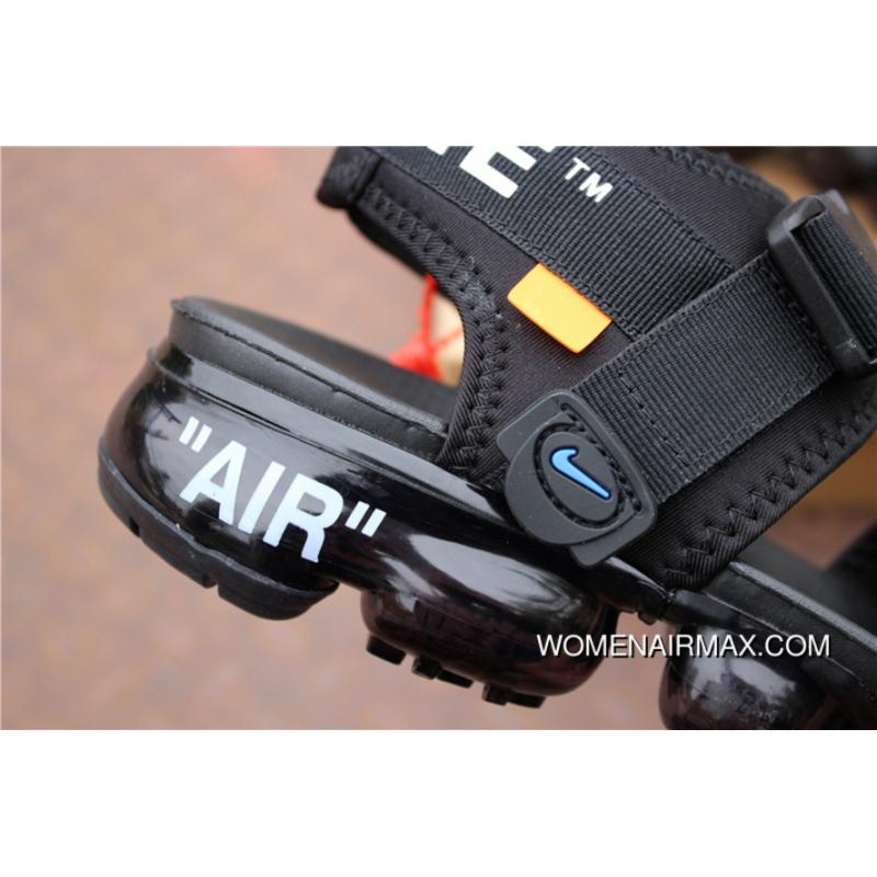 82e6b12efde ... Nike OFF-WHITE X Air Vapormax 2018 Zoom Sandals SANDAL SKU 850588-001  Joint ...