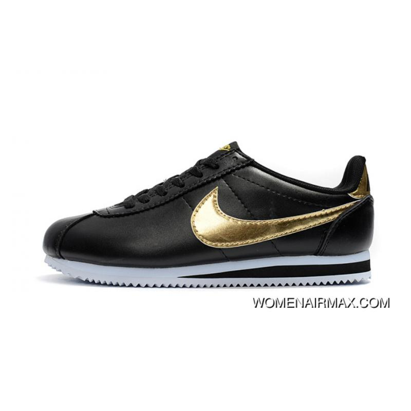 f640edc1ef nike cortez leather black | ventes flash