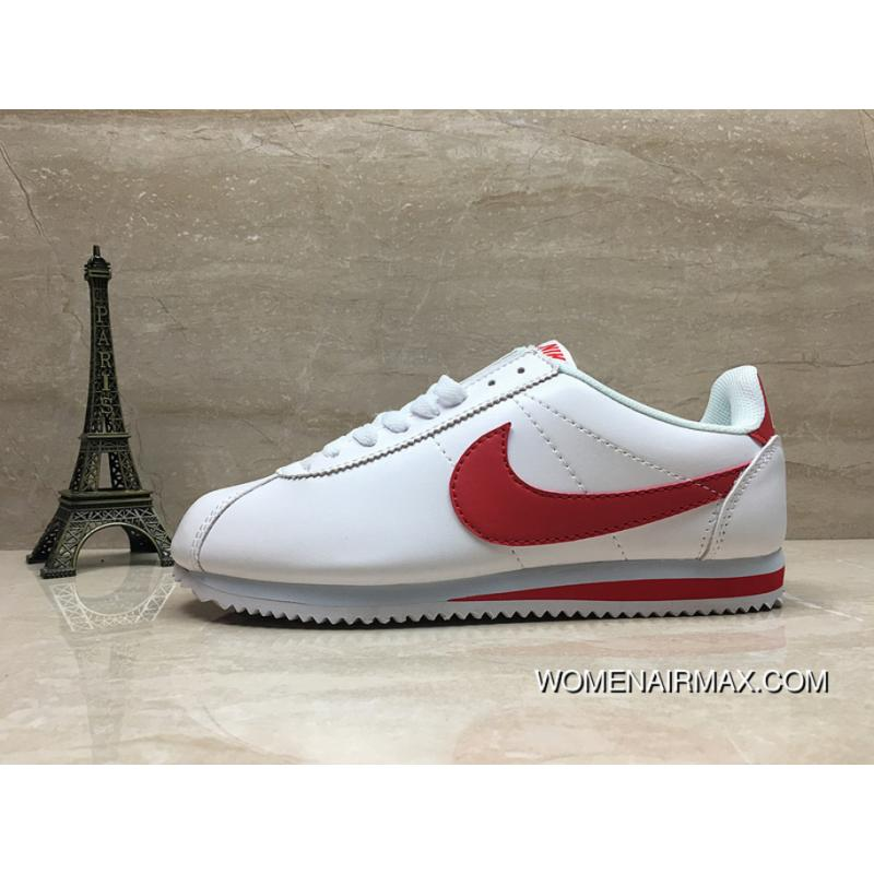 best service 8cd1e fb078 Nike Cortez Basic Leather Cortez Women And Men Casual Shoes SKU 807472-012  Size New Style