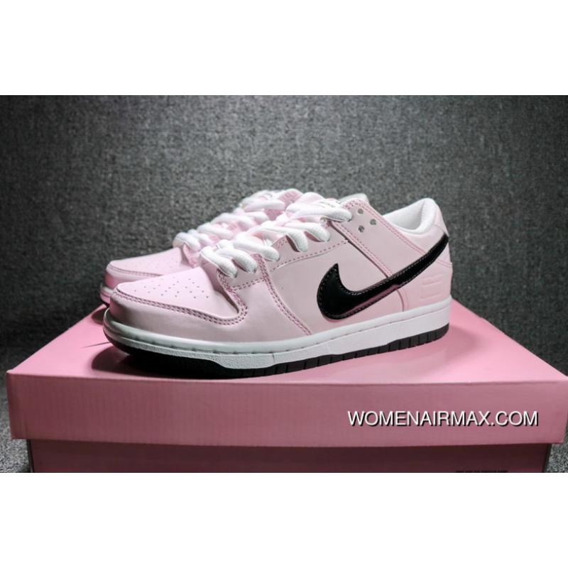 cheaper d256a 53099 Nike Dunk SB Low Pink Box 3M Pink Reflective Sport Skateboard Shoes Women  Shoes 833474-601 Online