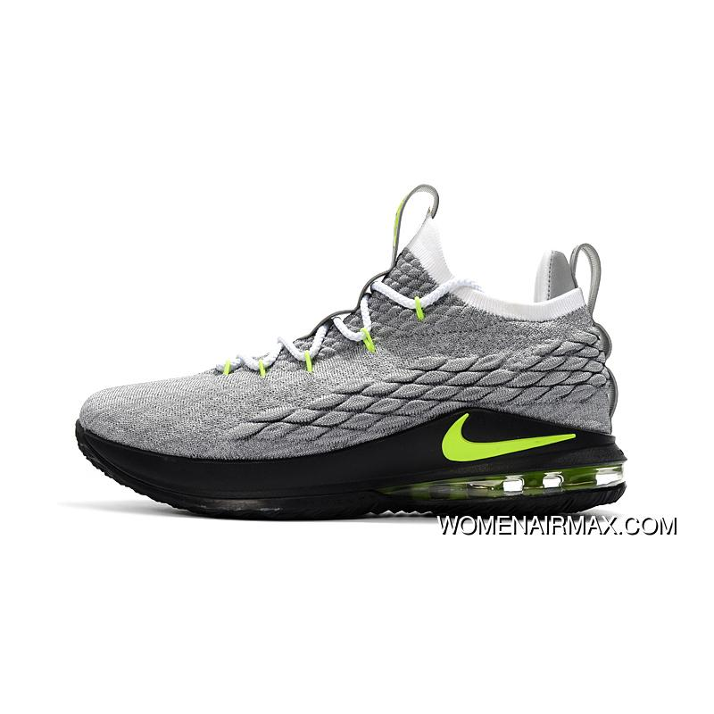 pretty nice 4e020 81b67 Nike Lebron 15 Low 'Neon' Men's Basketball Shoes New Year Deals