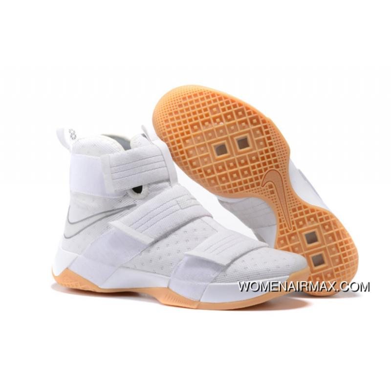 a180a5e4838 USD  87.92  228.58. Nike LeBron Soldier 10 White Metallic Silver-White ...