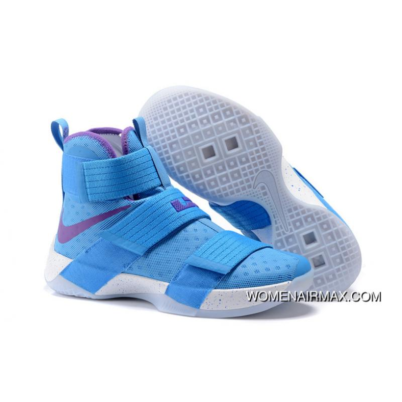 24a11dfd96b9 ... good nike zoom lebron soldier 10 blue purple white new year deals 78abb  c0710