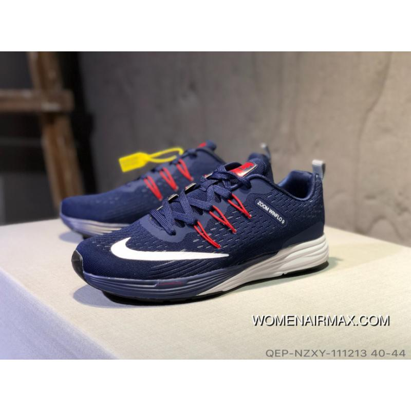 san francisco 74080 595a7 Nike Lunarglide 9 Lunarepic Running Shoes Navy Blue Men For Sale