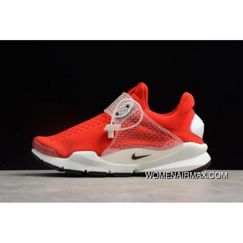 the best attitude 95ed8 60fa6 Nike Sock Dart Gym Red/Black-White 819686-601 New Release