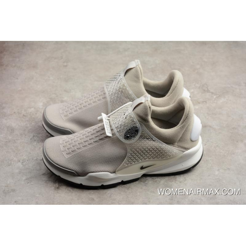 1502164f7e866 Nike Sock Dart Kjcrd Medium Grey Black-White 819686-002 Outlet ...