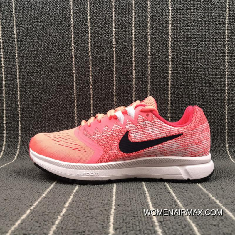 72f4f1d6eae Nike Air Zoom Span 2 Breathable Cushioning Running Shoes 909007-600 ...