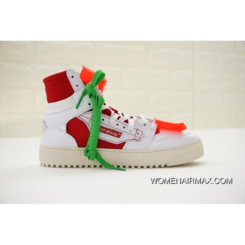 c02595d7bfcf Virgil Abloh OFF-WHITE Low 3.0 Hi-Top Sneakers OMIA065S Women New ...