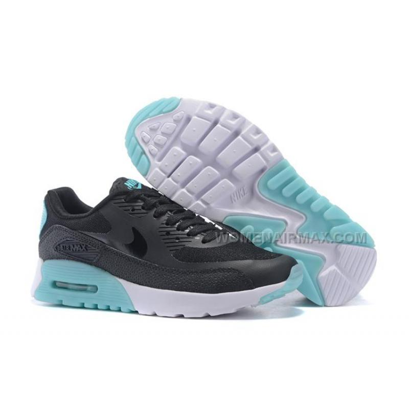 best website dc2ee b3ab4 Air Max 90 Ultra Essential Womens Shoes Black/Mint-White