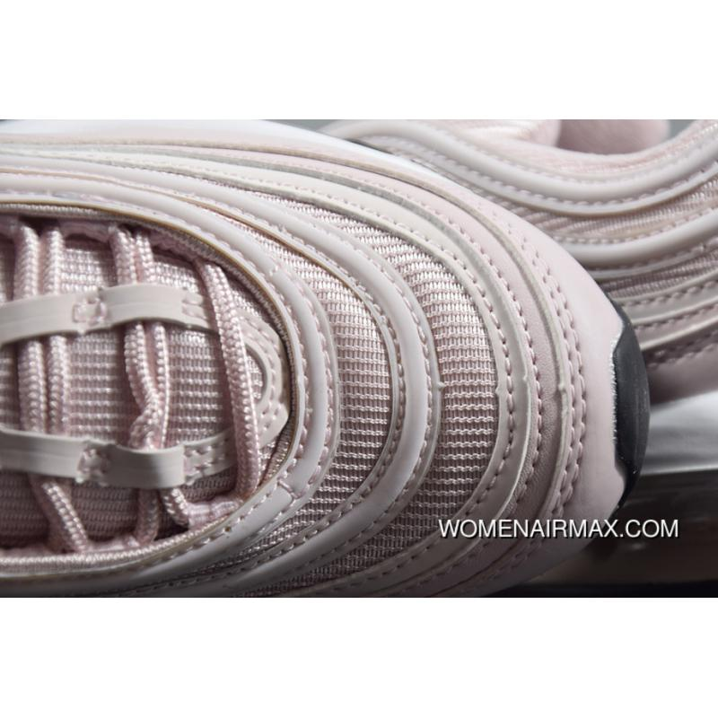 1fc717bab272 ... Nike Air Max 97 921733-600 OG Women Shallow Pink Bullet Zoom Running  Shoes Latest ...
