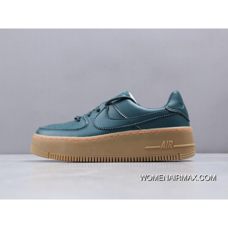 premium selection 170ce 993a8 Nike W Af1 Sage Low LX Surface Secondary MD Combine Rubber + Air Max Zoom  Super Light Bottom Of The Thick 14 Best Women Designer's Air Force 1 Height  ...