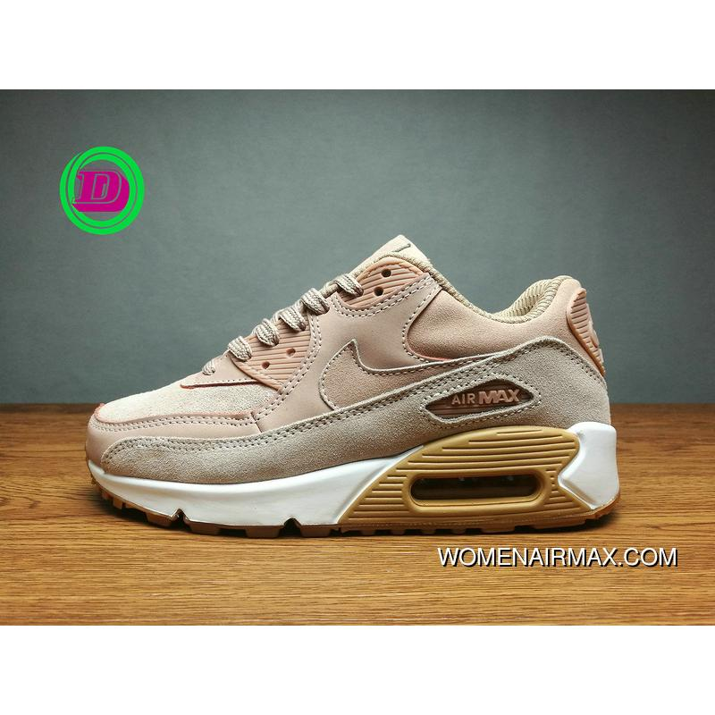 separation shoes d30f2 213a8 USD  80.94  218.55. Pink Brown Air Max 90 Nike Women Shoes Zoom Running ...