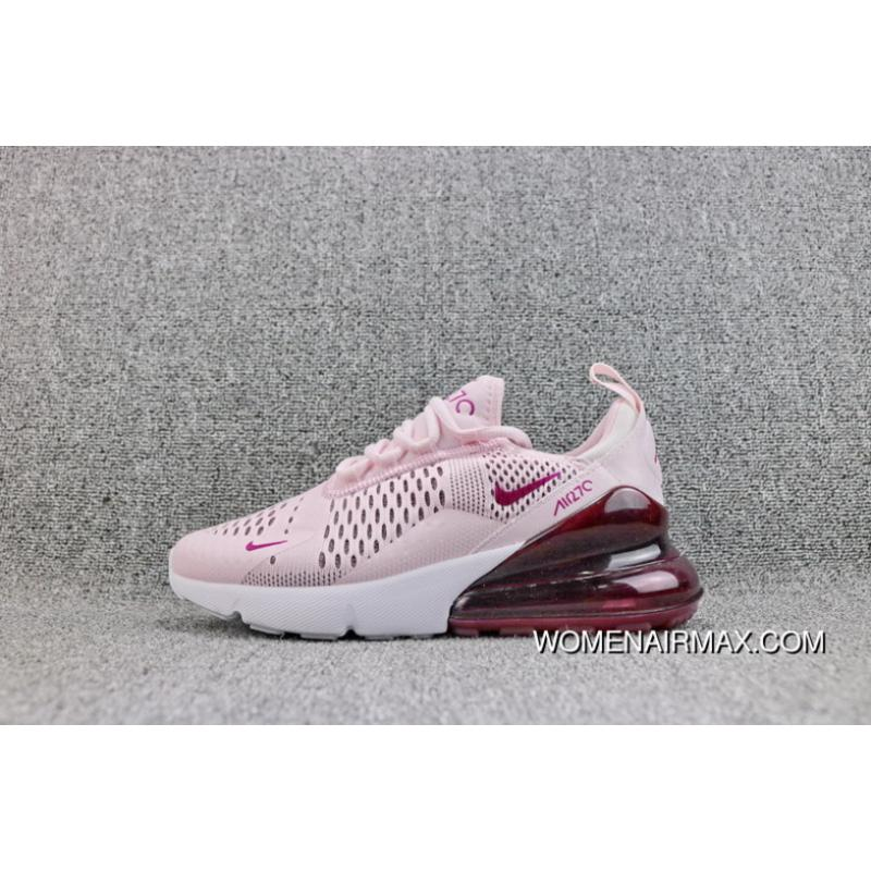 9176b65635bc0 Nike Air Max 270 New Overseas Colorways Heel Half-Palm Cushion Mesh Jogging  Shoes Women Shoes AH6789-601 12 Outlet