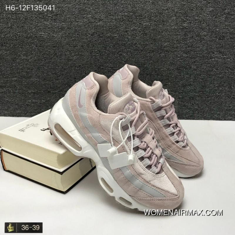 best service a3537 d66e1 140 Nike Air Max 95 LX MAX95 Zoom Women Shoes Cherry Blossom Put Sakura  Pink Velvet Running Shoes Style Code SizeYHC AA1103-600 Discount