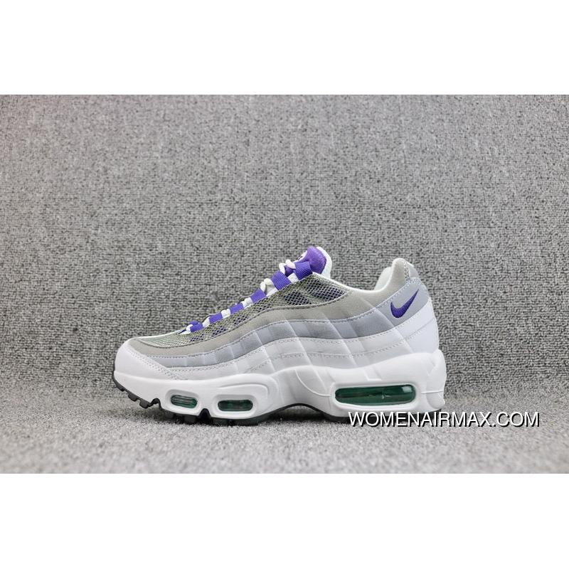 utterly stylish uk availability to buy Nike AIR MAX 95 OG Mesh Zoom Running Shoes Women Shoes 307960-109 M2 Online