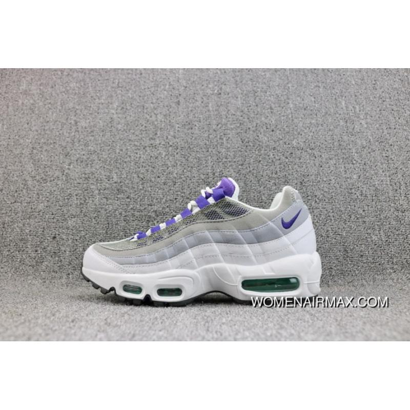 the best attitude 5288c 1fb67 R20 Nike AIR MAX 95 OG Mesh Zoom Running Shoes Women Shoes 307960-109 M2  For Sale