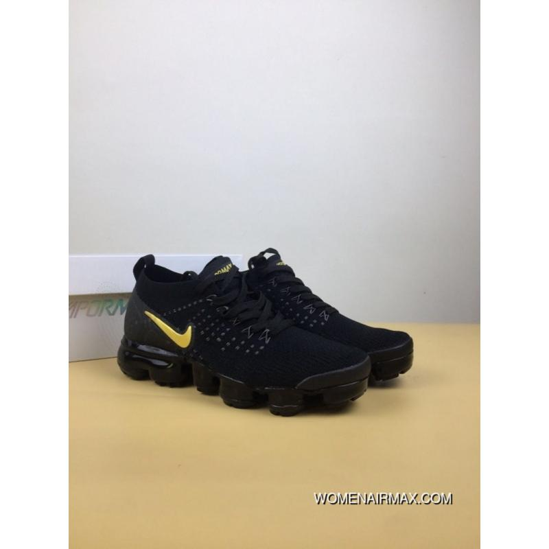 256b888c40c2e USD  89.72  242.25. NIKE AIR VAPORMAX 2.0 Zoom Air 2 Black Gold Running  Shoes SKU 942843-503 Women ...
