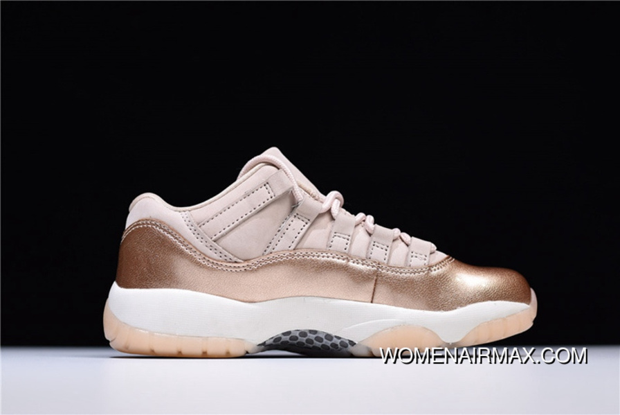 1e7a4bacfed9cc Air Jordan 11 Low Rose AJ11 Pink Gold AH7860-105 New Year Deals ...