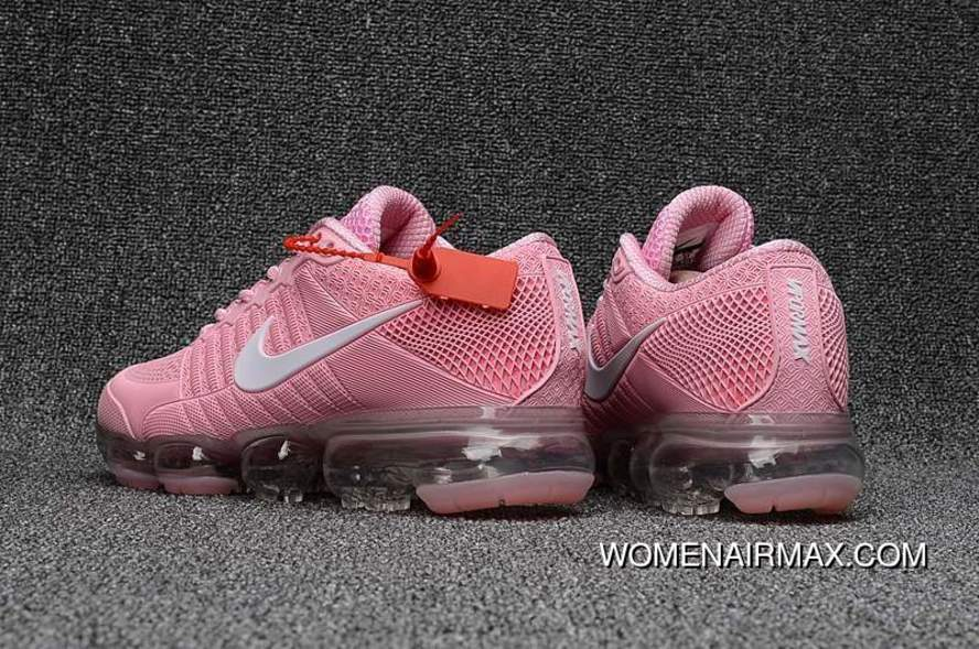 best sneakers ba29a c5371 Buy Girls Exclusive Nike Air Vapormax Flyknit Pink White For Sale