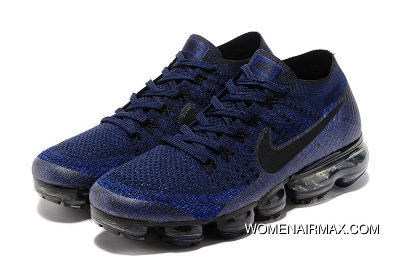 a1f2df0d9fe9e Nike Air VaporMax Flyknit 2018 2018400 Navy Blue Outlet, Price ...
