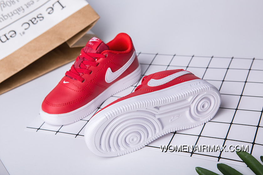 08d767df508 Kids Nike Air Force One Red Online, Price: $70.14 - Women Air Max ...