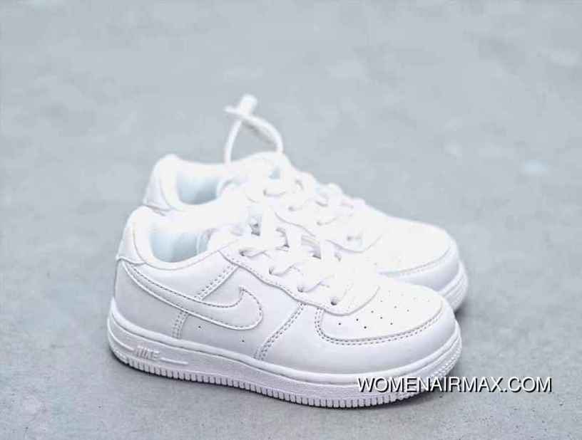 la meilleure attitude adf52 0ba9c Nike Force 1 Low Kids Air Force One Low Kids Shoes Independent Private Mode  Size 2235 Large And Small Children One-Time Perfect Supply Latest