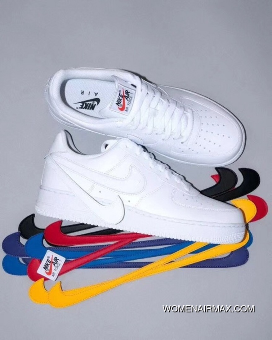 photos officielles 41afd 6b510 Authentic Quality Nike Air Force 1 AF1 Filling Color Change The Hook Velcro  Sneakers AH8462-102 New Release