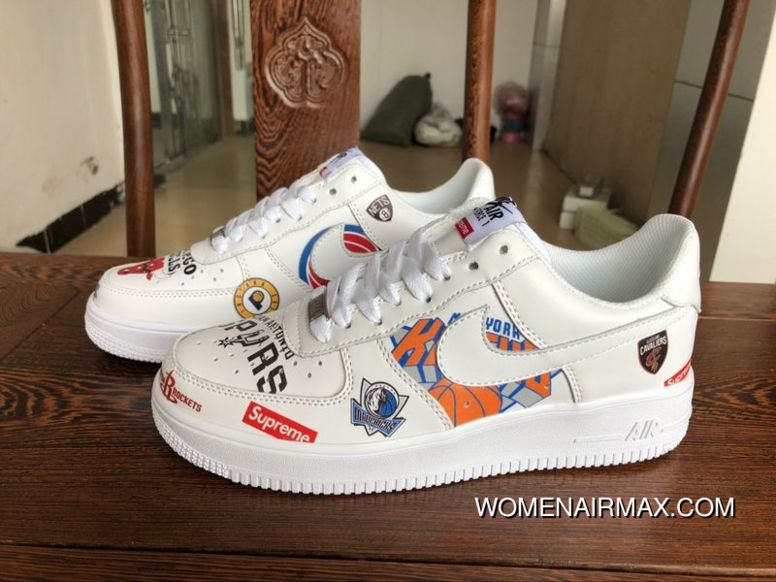 outlet store 165ae c9375 Supreme X NBA X NIKE Air Force 1 Low AQ8017-1005 Copuon