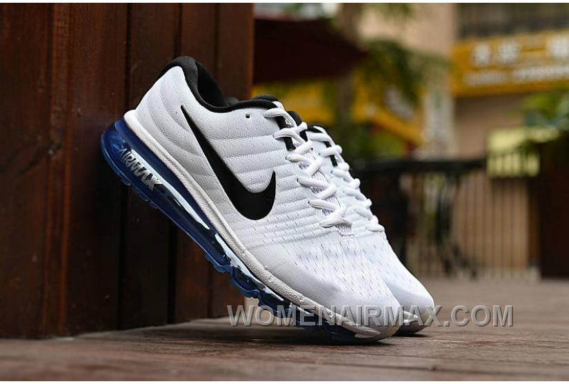 Authentic Nike Air Max 2017 White Black Royal Blue Cheap To Buy Nm4we 8ca253eee