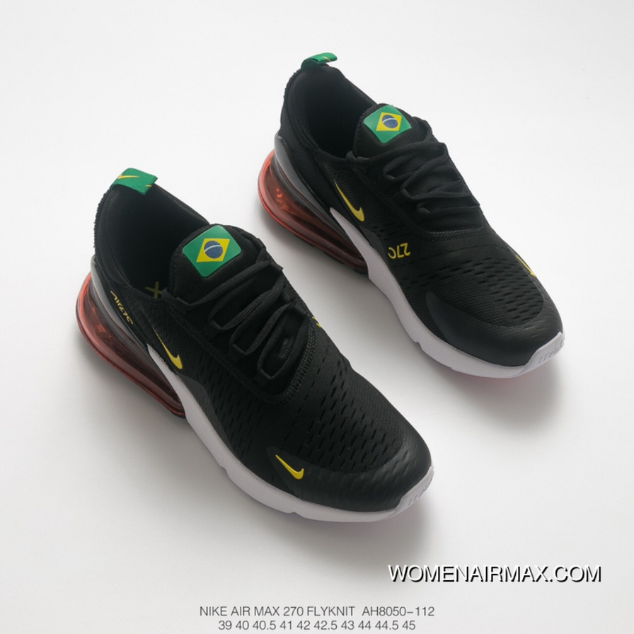 World Cup Theme The FIFA World Cup Men Shoes Nike Air Max 270 Series Heel  Half 9134624df