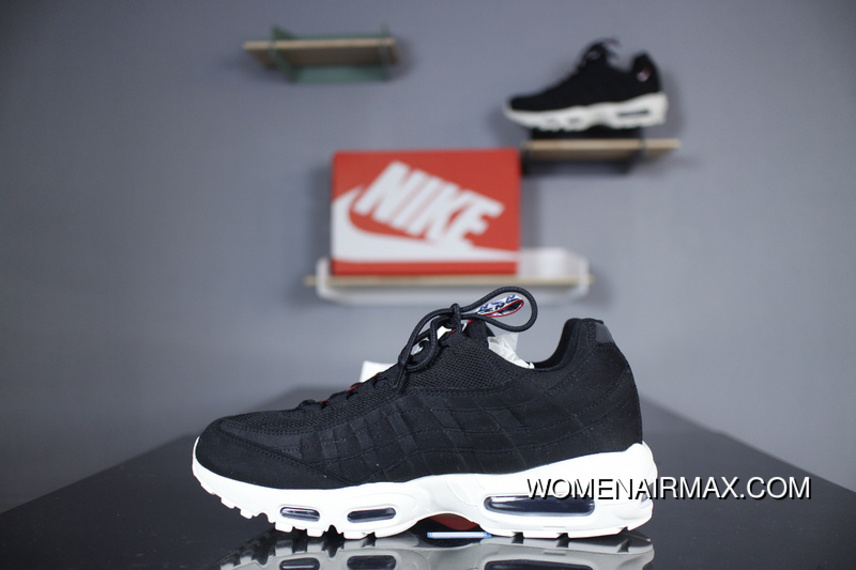 Nike Air Max 95 TT AJ1844-002 Black And White Correct Details Version Type  Workmanship acba5757c