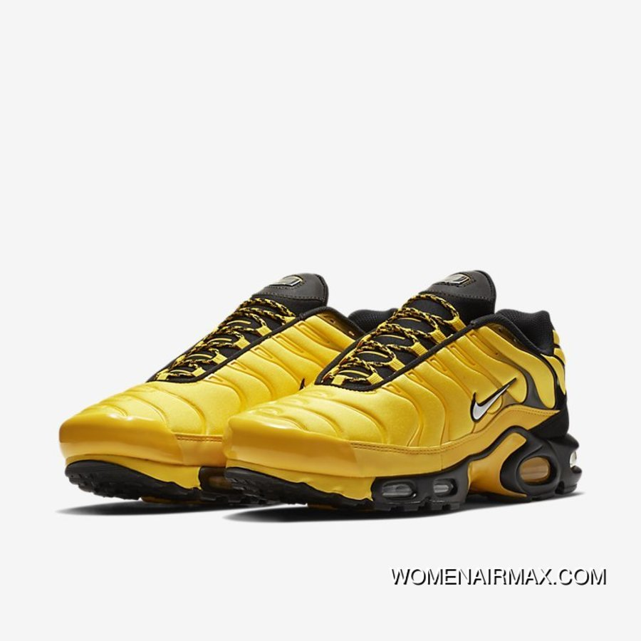 new product e95b0 9b249 Nike Air Max Plus TN AIR MAX 95 Frequency Pack Men Running Shoes Limited  AV7940 700 Men Yellow Black New Release