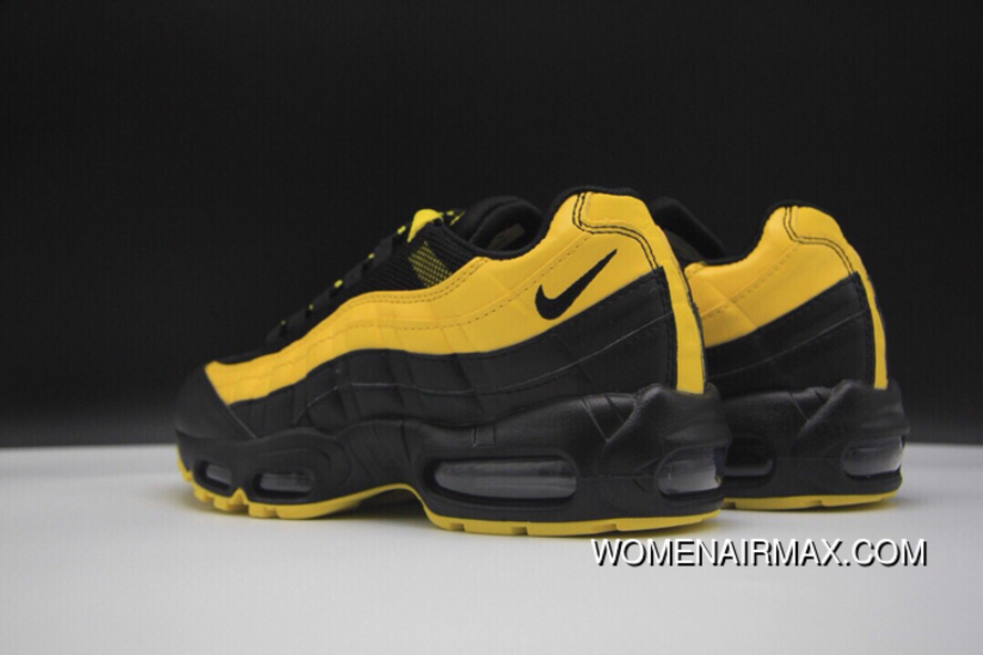 finest selection 53910 195c2 Nike Air Max 95 Nike Air Max Frequency Pack Men Running Shoes Limited Men  Fashion Running Shoes YELLOW AV7940 700 BLACK For Sale