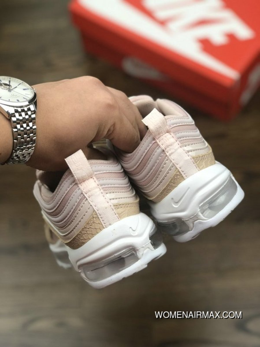 42ef948994f5c7 Nike Air Max 97 Ultra 17 917646-600 Pink Snakeskin Copuon