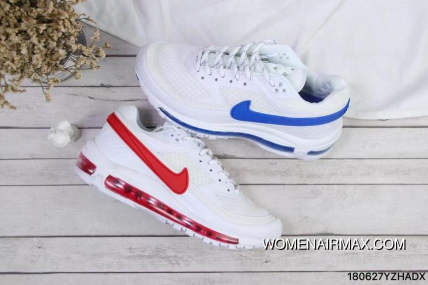 Nike White Red Blue What The Skepta X Air Max 97 BW Collaboration Top Deals