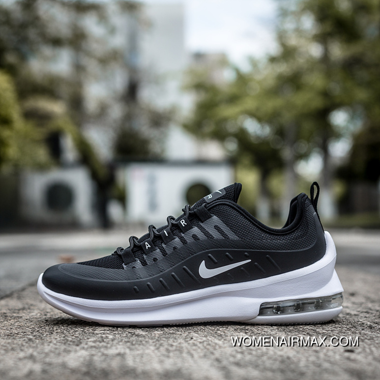 Top Deals Black WHite NIKE Men Shoes 2018 Summer MAX AXIS Zoom Cushioning Sport Casual Running Shoes AA2146