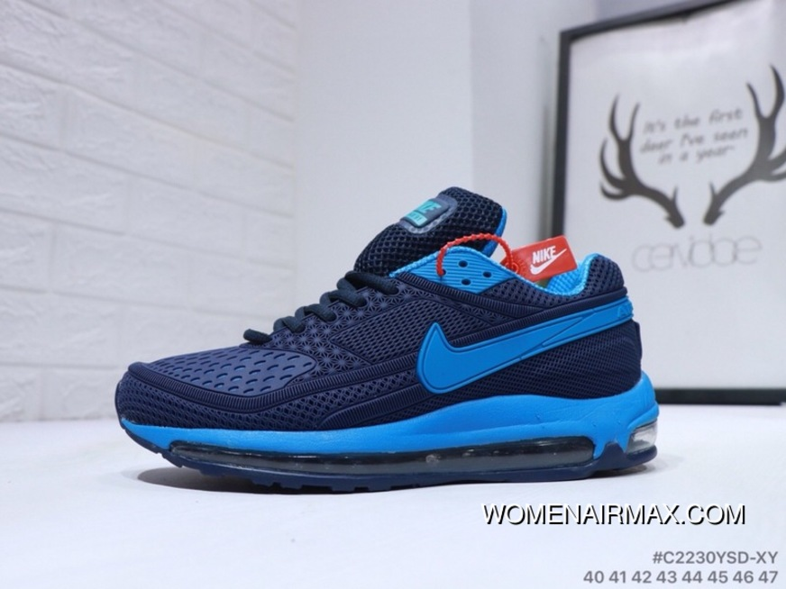 the best attitude ee73e 8ac04 NIKE Air Max 97 BW SKEPTA Blue Black Latest
