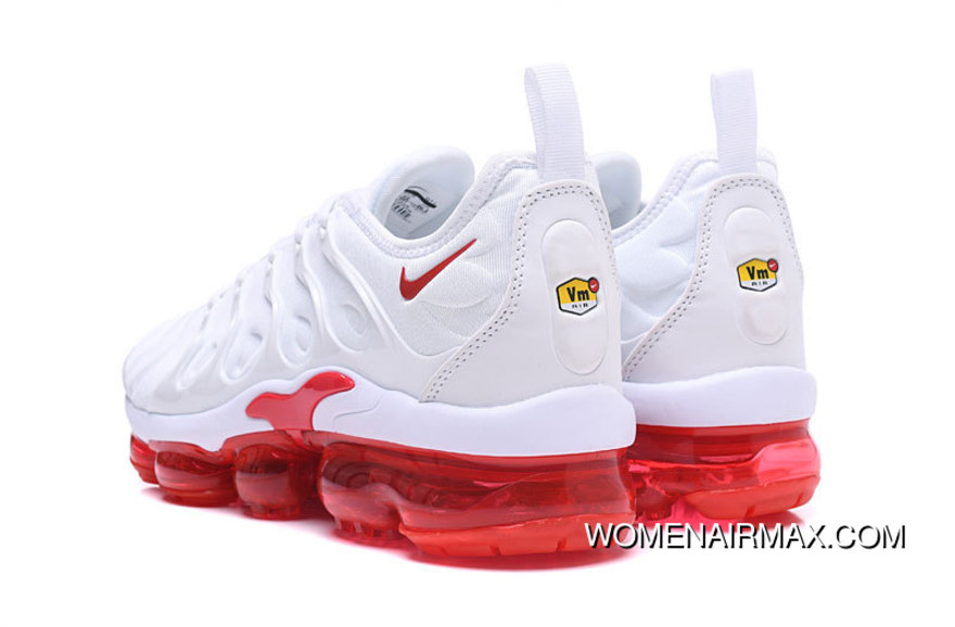 best service 643b3 3af38 AIR MAX Tn 2018 Plus White Red Free Shipping