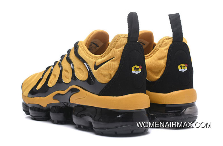 finest selection 1750a be520 AIR MAX Tn 2018 Plus Yellow Black Copuon