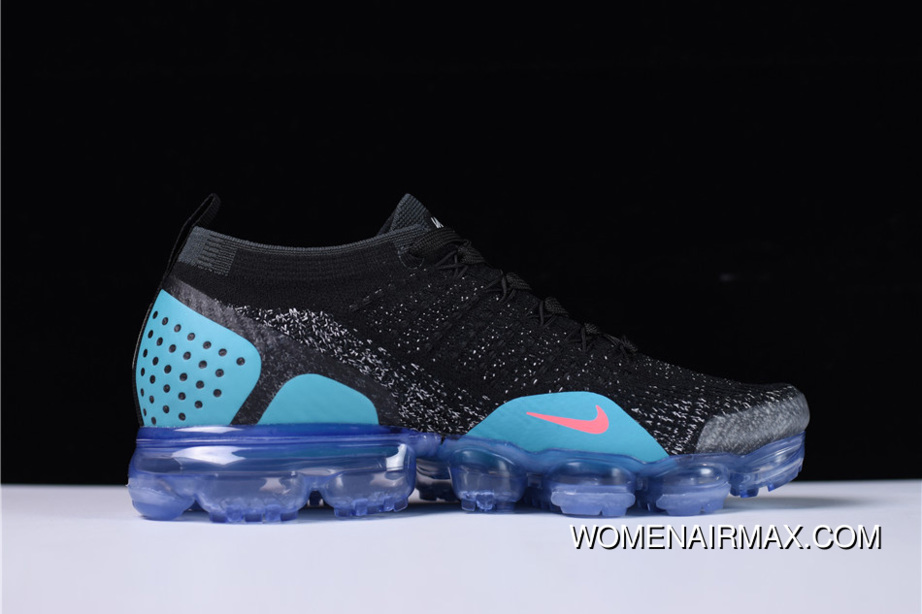 1ee1cdd2b62 Nike Air Vapormax 2.0 Flyknit Black Hot Punch-White-Dusty Cactus New Year