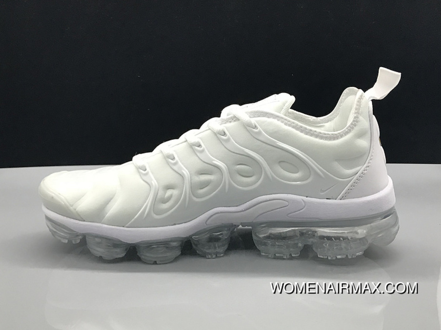 reputable site 9af27 f9ad0 Nike Air Vapormax Plus 2018 TN All White New Release