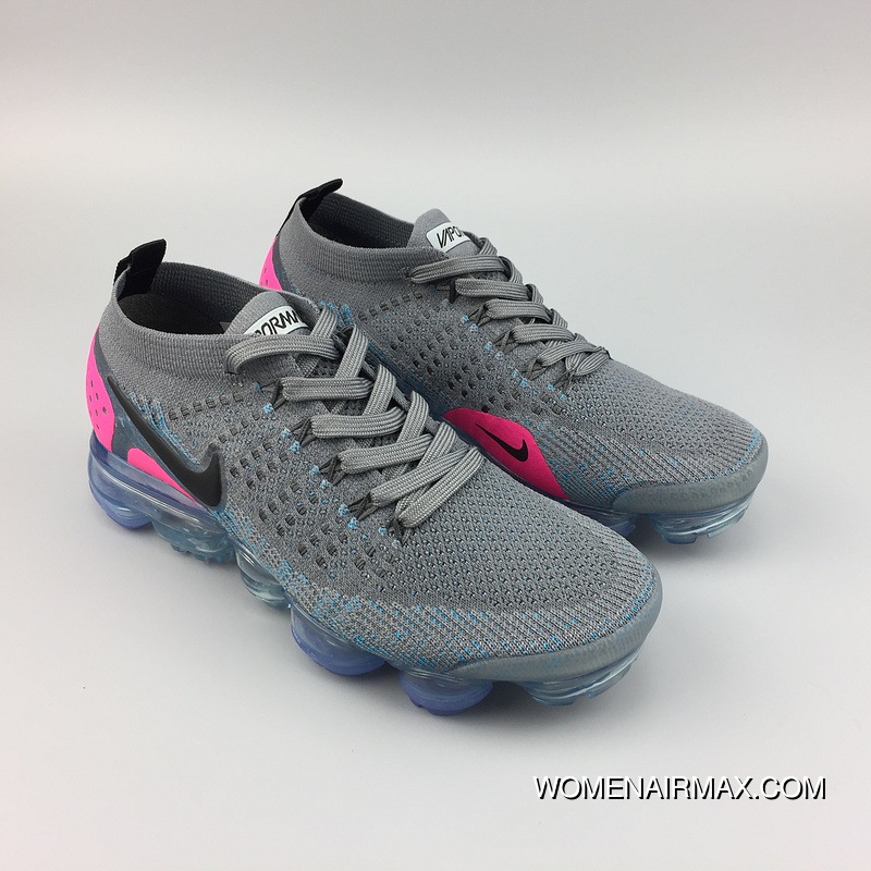 quality design 87e55 63ee4 942843-004 Nike AIR VAPORMAX FLYKNIT 2 2018 Full-palm Cushion Knit Running  Shoes 2018 2.0 942842-003 Women Latest