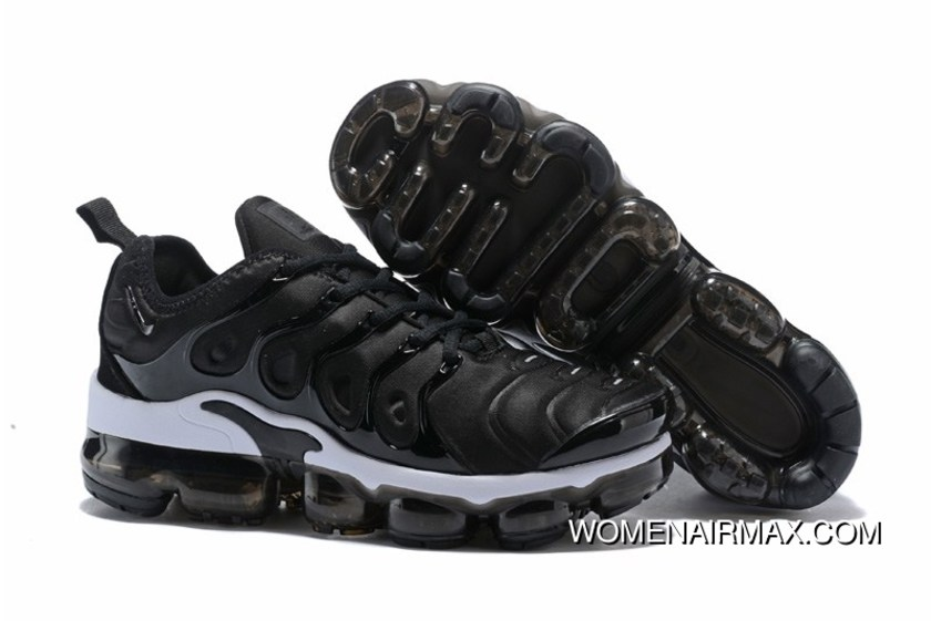 c470dfd49f93 2018 Womens Nike Vapormax Plus Trainers Anthracite Black-White New Year  Deals