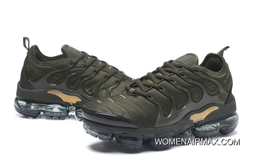 5b7d9009359 Mens Nike Air Vapormax Plus Cargo Khaki Sequoia-Clay Green Copuon ...