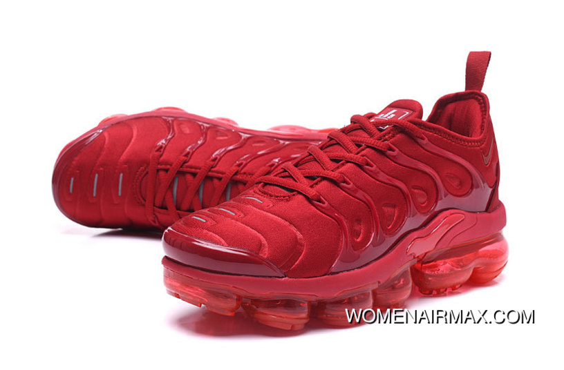 4893df7edf New Nike Air Vapormax Plus All Red For Sale