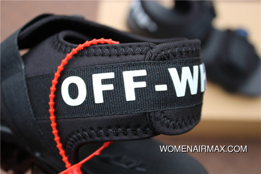 0bb962f802ef0 Nike OFF-WHITE X Air Vapormax 2018 Zoom Sandals SANDAL SKU 850588-001 Joint